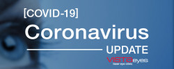 Coronavirus (COVID-19) update from VISTAeyes Laser Eye Clinic
