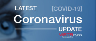 Latest COVID-19 Update from VISTAeyes