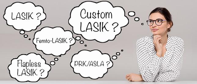 LASIK vs LASIK vs LASIK